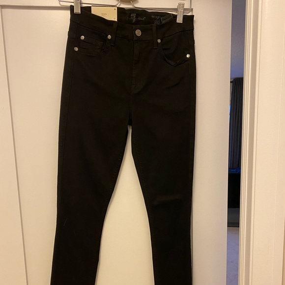 NWT 7 For All Mankind high waist skinny Size 28
